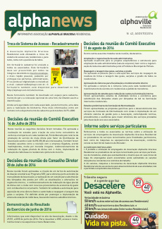 Informativo Agosto/2016