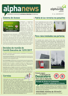 Informativo Janeiro/2017