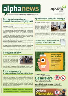 Informativo Maio/2017