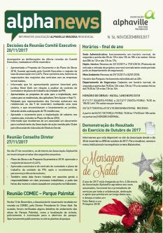 Informativo Nov/Dezembro/2017
