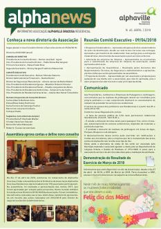 Informativo Abril/2018